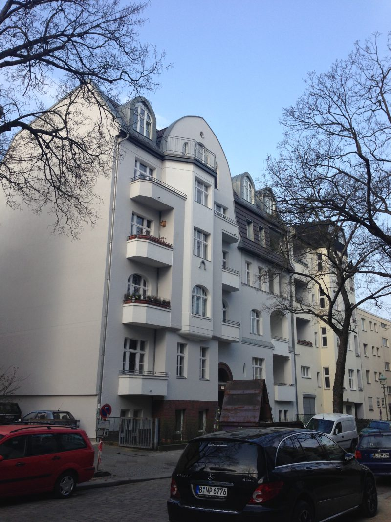 2012 – 2013 Berlin, Herder Straße 35