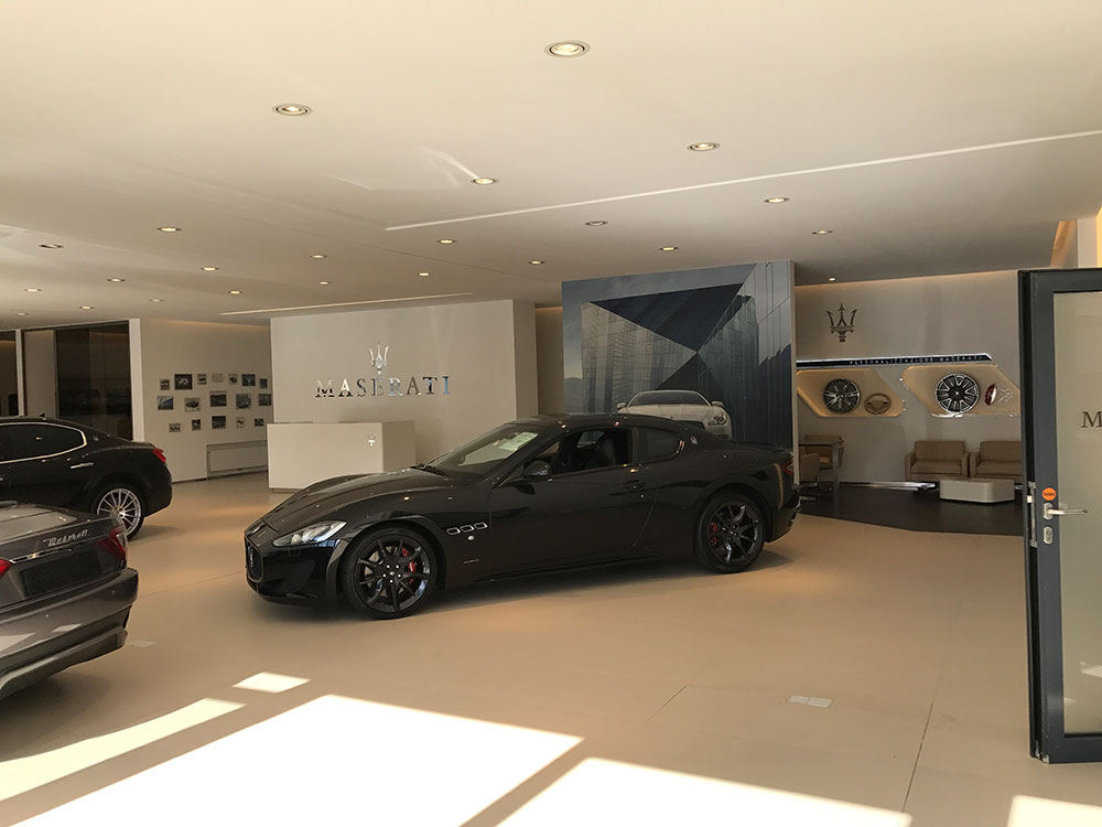 2017 Maserati-Showroom am Kudamm