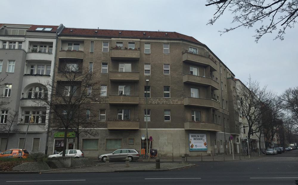 2017/2018 Berlin, Hohenzollerndamm 21