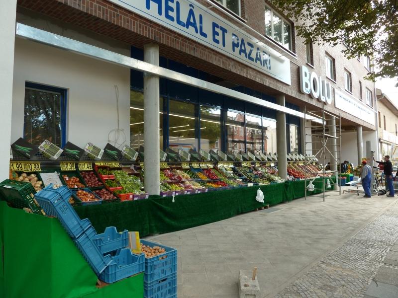 2011-2014 Berlin - Supermarkt-Neubau