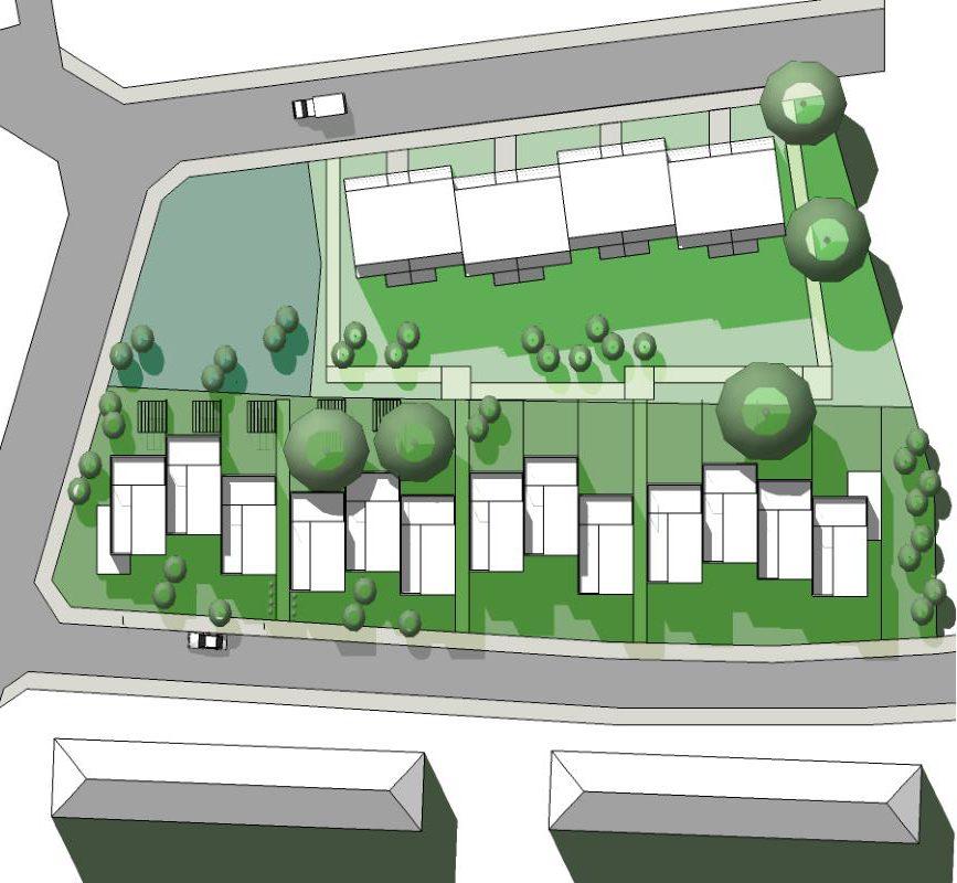 Dessau, Wohnpark Österreichviertel 7.BA, Entwurf B