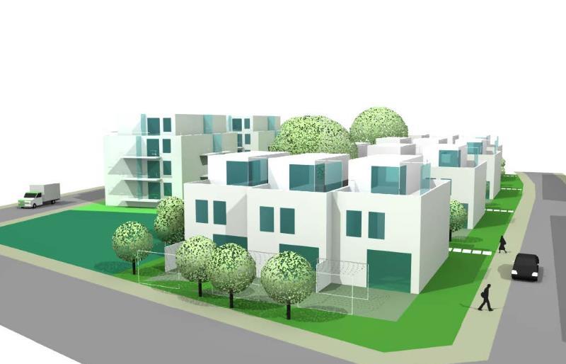 Dessau, Wohnpark Österreichviertel 7.BA, Entwurf C