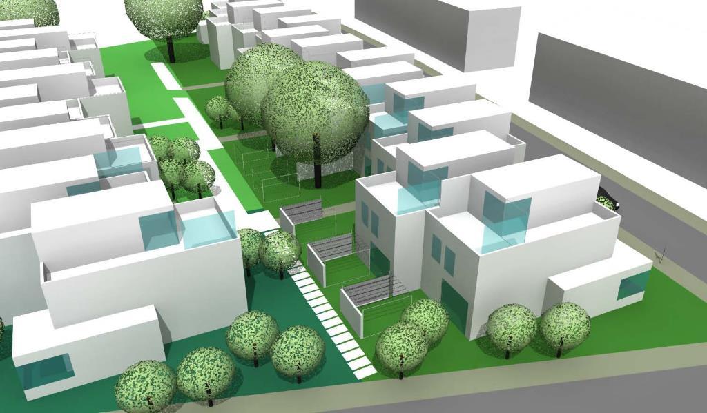 Dessau, Wohnpark Österreichviertel 7.BA, Entwurf A