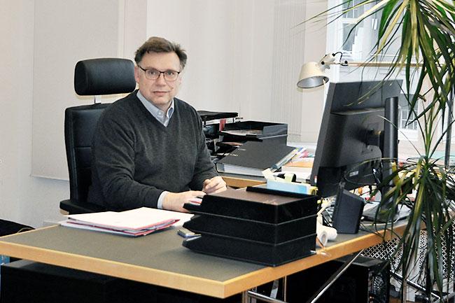 Architekt Volker Heinrich
