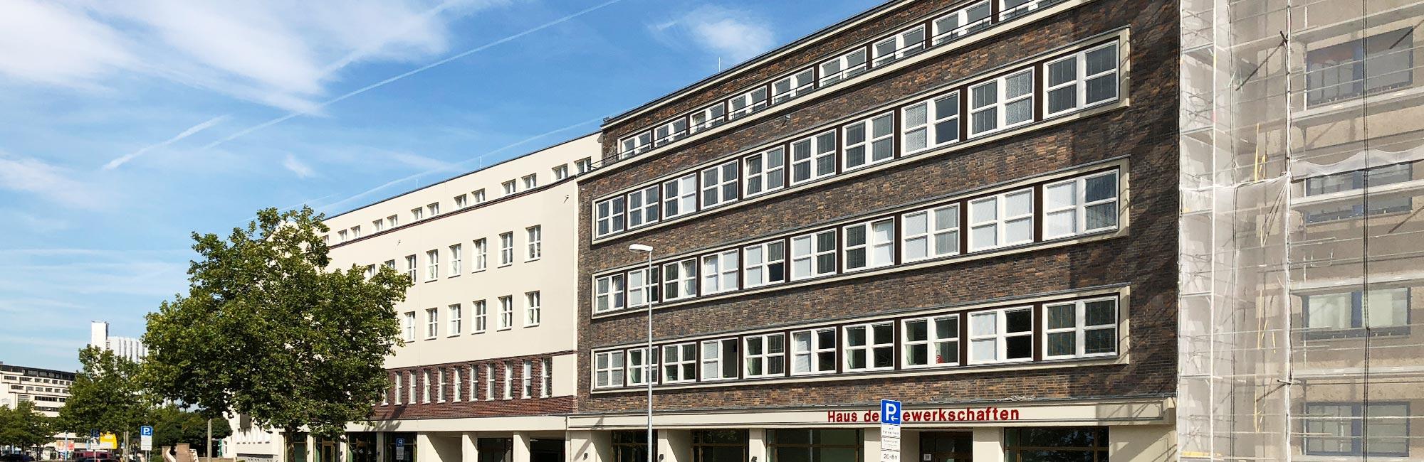 Architekturbüro Heinrich Wohnbau Haus der Gewerkscahften